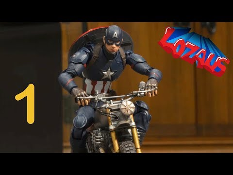 CAPTAIN AMERICA Stop Motion Action Video