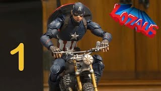 Video CAPTAIN AMERICA Stop Motion Action Video MP3, 3GP, MP4, WEBM, AVI, FLV September 2018