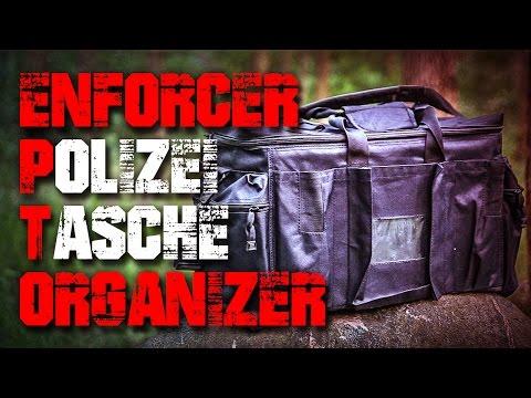 Polizei Ausrüstungstasche Enforcer Outdoor - Review Test Outdoortest (Deutsch/German)