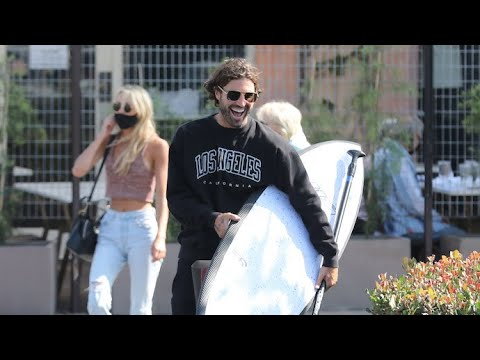 Brody Jenner Shops For Surf Gear With Mom Linda Thompson And His Cute Blond Girlfriend