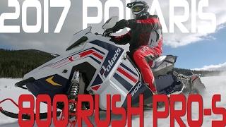 8. STV 2017 Polaris 800 Rush PRO-S