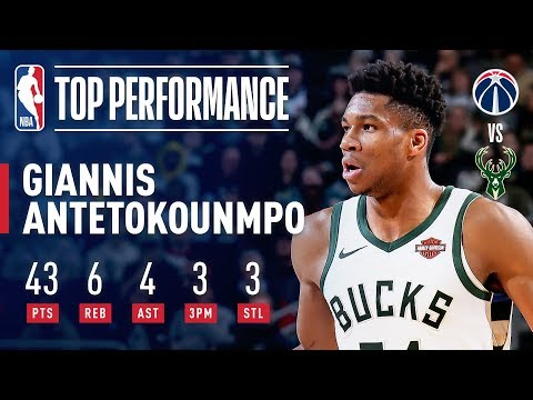 Video: Giannis Antetokounmpo Drops An EFFICIENT 43 Points | February 6, 2019