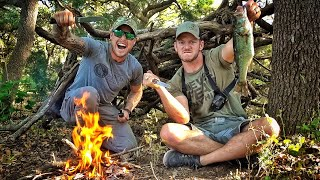 Video Wilderness Survival Challenge with Lunkers!!! MP3, 3GP, MP4, WEBM, AVI, FLV Januari 2019