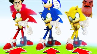 Minecraft: DO NOT CHOOSE THE WRONG SONIC! (Scary teacher 3d, Sonic,)(PS4/XboxOne/PE/MCPE)