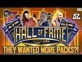 They Wanted More Hall Of Fame Packs   Wwe Supercard Ad