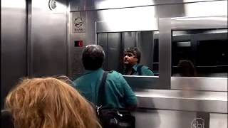 Extremely Scary Ghost Elevator Prank In Brazil 7 772089 YouTubeMix