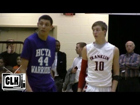 Justin Jackson and Luke Kennard go head to head at Flyin To The Hoop 2013