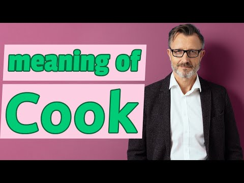 Cook | Meaning Of Cook