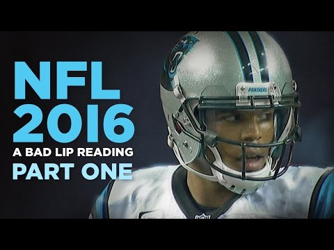 FUNNY:  Bad Lip Reading: NFL 2016