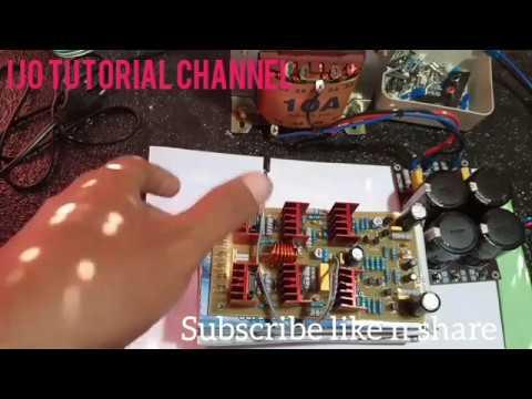 Mengukur DCO dan Bias driver yiroshi pada tegangan 45 volt ijo tutorial