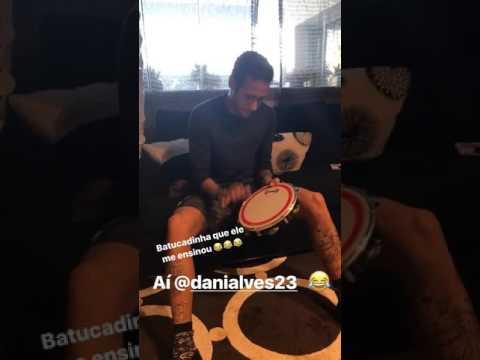 """Neymar prepara la """"remuntada""""… a colpi di tamburello!"""