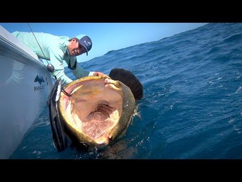 pesca mostruosa sullo