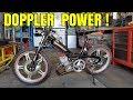 J'enrhume la Police, les Harley et Hummer en MBK 50cc Doppler !