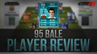 FIFA 13 Ultimate Team | Player Review | 95 BALE PLAYER CARD