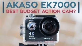 Video AKASO EK7000 Review: The Best Budget Action Cam? MP3, 3GP, MP4, WEBM, AVI, FLV Juli 2018