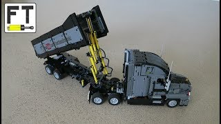 LEGO Technic - Mack Anthem Dump Truck (MOC)