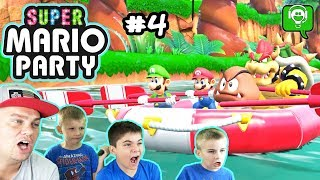 Super Mario Party #4 River Rafting by HobbyFamilyGaming