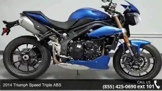3. 2014 Triumph Speed Triple ABS  - RideNow Powersports Chan...