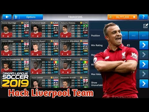 DREAM LEAGUE SOCCER 2019 Hack Liverpool 6.11 No Root (All Players Unlocked + Unlimited Coins)