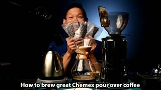 though I've owned my Chemex for years it's only recently I've been happy enough to share my chemex brew method.  Here's the best chemex coffee recipe I know of with a simple twist that makes all the difference. Links, notes and updates at http://bit.ly/dqchemex+ Learn to Livestream: http://bit.ly/lgres+ Subscribe to the Show: http://bit.ly/chineSecretsGet Live Notification via Text: http://bit.ly/fbsubcsMore chineSecrets: http://chineSecrets.comLearn to Livestream: http://livestreamgeek.com--- HOW TO SUPPORT THE SHOW ---Thanks for watching!   If you like what you've seen and would like to help us create more videos like this, we'd love for you to start your online shopping off with the links below. As affiliates we get a small percentage of qualifying purchases but rest assured you won't pay a cent more than buying it elsewhere on the world-wide-web. Every purchase helps no matter how big or small, so THANK YOU for starting your shopping off with our links! Amazon.com - http://amzn.to/2nYarYCAmazon.ca - http://amzn.to/2nMREPuAmazon.co.uk - http://amzn.to/2oMaILoB&H Photo - https://bhpho.to/2ooyxNfAdorama - http://bit.ly/1EGcfqWEbay - http://ebay.to/2oMgMDLIf you love what you've seen and want to contribute towards the show on a monthly basis, please consider becoming a Patron here:  https://www.patreon.com/chineSecretsFor more laughs, learning and love visit our home on the web at http://notsoancientchinesecrets.comFor more Behind the Scenes and to start a conversation:Facebook: http://facebook.com/chineSecretsInstagram: http://instagram.com/chinesecretsTwitter: http://twitter.com/chinesecretsGod bless, and see you in the next video :)Multistreaming with https://restream.io/