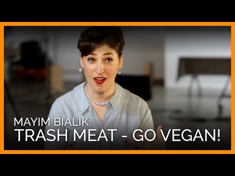 Trash Meat and Go Vegan (PETA Ad)