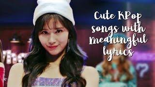 Video 15 Cute KPop Songs With Meaningful Lyrics MP3, 3GP, MP4, WEBM, AVI, FLV Agustus 2018
