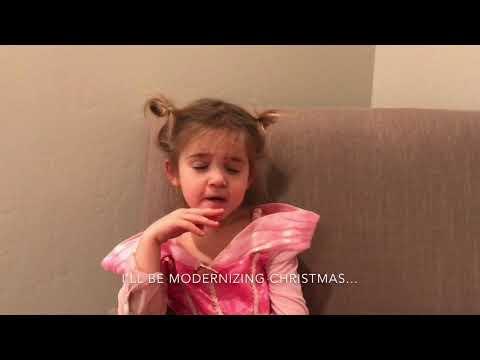 Now Mila is Firing Santa