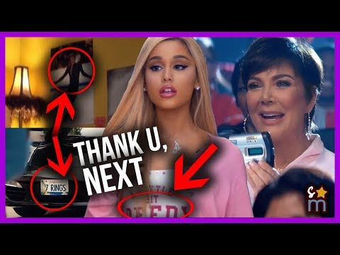 """thank U, Next"": All The Hidden Messages, References & Cameos In Ariana Grande's Music Video"