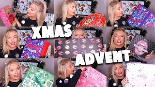 Video HUGE CHRISTMAS ADVENT HAUL!! Unboxing beauty advent calendars!!😱😍 MP3, 3GP, MP4, WEBM, AVI, FLV April 2018