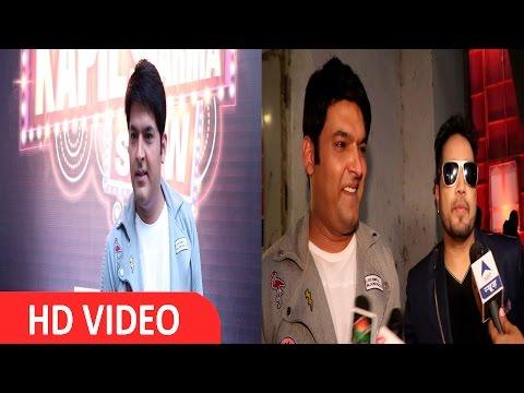 Mikka Singh On The Set Of The Kapil Sharma Show