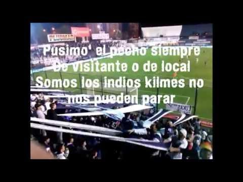 """""""Vos de bebe"""" Quilmes Atletico Club - Letra (Los Gedes) - Indios Kilmes - Quilmes"""