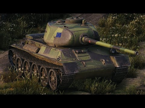 World Of Tanks T-43 - 9 Kills 5,1K Damage