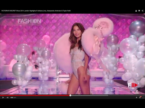 Alessandra - VICTORIA'S SECRET 2014 Fashion Show Highlights Victoria's Secret Angels wearing gold wings and diamond-encrusted bras strutted the London catwalk on Tuesday ...