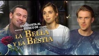 La Bella y la Bestia, entrevista al elenco.