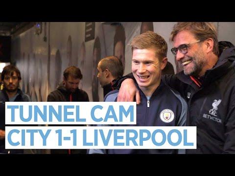 Video: TUNNEL CAM | Man City 1-1 Liverpool