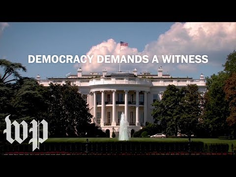 Democracy Demands a Witness | The Washington Post