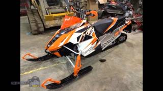 8. Snowmobiling review 2015 Arctic Cat ProCross