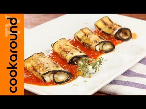 involtini di melanzane alla parmigiana - ricetta facile