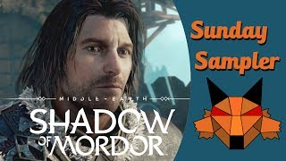 In this week's Sunday Sampler we try out Middle-Earth: Shadow of Mordor.Intro artwork by Jesper Myrthue at http://www.myrthuelarsen.dkIntro music by bensound at http://www.bensound.com/royalty-free-musicSubscribe! https://www.youtube.com/user/MentalFoxOG?sub_confirmation=1Follow me on Twitter: https://twitter.com/MentalFoxOGFollow me on Facebook: https://facebook.com/MentalFoxOGGame description from steam.com:Fight through Mordor and uncover the truth of the spirit that compels you, discover the origins of the Rings of Power, build your legend and ultimately confront the evil of Sauron in this new chronicle of Middle-earth.Buy the game here: http://store.steampowered.com/app/241930/Middleearth_Shadow_of_Mordor/* Check out my other Let's Plays:Resident Evil 7: http://bit.ly/2jNbjtfDeus Ex Mankind Divided: http://bit.ly/2hRLCLSNo Man's Sky: http://bit.ly/2iAY16kInside: http://bit.ly/2aUV1wkSunday Samplers: http://bit.ly/2aUV5MOUncharted 4: http://bit.ly/2aUUJWmDark Souls 3: http://bit.ly/2awtW3iRise of the Tomb Raider: http://bit.ly/2aufdEVFirewatch: http://bit.ly/1LjNyAuThe Old Hunters Bloodborne DLC: http://bit.ly/2ayNpRrGone Home: http://bit.ly/2aRprmjFallout 4: http://bit.ly/2ayNHHPUntil Dawn: http://bit.ly/2aOjzc6SOMA: http://bit.ly/2aJEYlFBatman Arkham Knight: http://bit.ly/2aAXJpfThe Witcher 3: http://bit.ly/2aOjlSdThe Witcher: http://bit.ly/2aPfDs4Bloodborne: http://bit.ly/2aT0SpvThe Evil Within: http://bit.ly/2aJFjEQTo The Moon: http://bit.ly/2awwHkYDragon Age: Inquisition: http://bit.ly/2b3KDBVFar Cry 4: http://bit.ly/2aUXoPMBeyond Good & Evil: http://bit.ly/2avsmvsAlien:Isolation Last Survivor: http://bit.ly/2aT1o6BAlien:Isolation Crew Expendable: http://bit.ly/2avEUZSDreamfall Chapters http://bit.ly/2aD2vD3Alien: Isolation: http://bit.ly/2amuBl2Crown of the Ivory King Dark Souls 2 DLC: http://bit.ly/2b3LtysDestiny: http://bit.ly/2aUXw1RCrown of the Old Iron King Dark Souls 2 DLC: http://bit.ly/2aJFOysCrown of the Sunken King Dark Souls 2 DLC: http://bit.ly/2auiBja