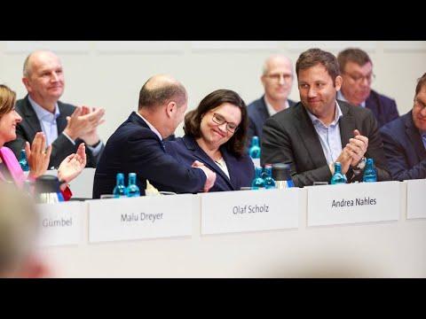 Mit 66 Prozent: Andrea Nahles wird SPD-Chefin