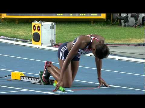 USA win gold in the Women's 4x400m Relay Daegu (Full Race)