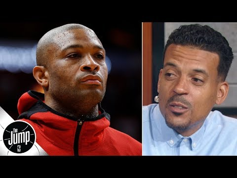 Video: 'Only superstars can make those demands' - Matt Barnes on PJ Tucker's extension comments   The Jump