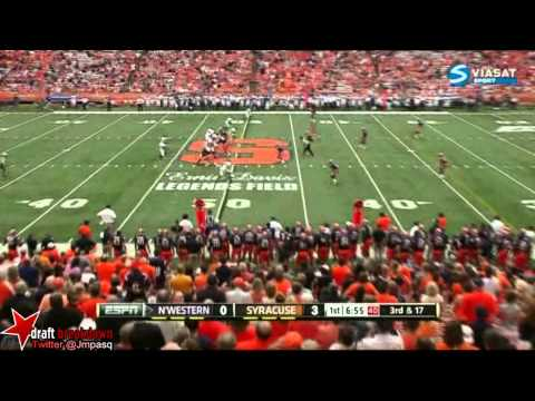 Venric Mark vs Illinois & Syracuse 2012 video.