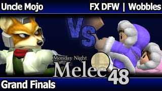 Well I guess he got jealous of Alpha Dash having it… Wobbles with the fastest match start to wobble confirm that's even possible? First stock of last night's grand finals @ Monday Night Melee 48.