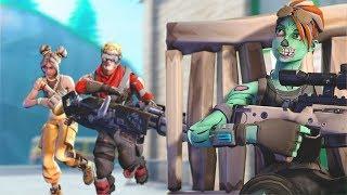 Killing Twitch Streamers #15 - Fortnite Battle Royale