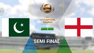 """ICC CHAMPIONS TROPHY 2017 GAMING SERIES - PAKISTAN v ENGLAND - SEMI FINAL (DON BRADMAN CRICKET 17, FULL 1080P HD, 30FPS, XBOX ONE S)Check out the Champions Trophy 2013 Gaming Series playlisthttps://www.youtube.com/playlist?list=PLdKwevnrzNGy2Jax2seo6LK0hiYjwt1PKICC Champions Trophy 2017 FixturesMatch 1 - England v BangladeshMatch 2 - Australia v New ZealandMatch 3 - South Africa v Sri LankaMatch 4 - India v PakistanMatch 5 - Australia v BangladeshMatch 6 - England v New ZealandMatch 7 - Pakistan v South AfricaMatch 8 - Sri Lanka v IndiaMatch 9 - New Zealand v BangladeshMatch 10 - England v AustraliaMatch 11 - India v South AfricaMatch 12 - Sri Lanka v Pakistan Semi Final GA1 v GB2Semi Final GB1 v GA2Final TBD v TBD*Warning: The following is a gameplay from the video game """"Don Bradman Cricket 17"""" for the ps4, Xbox one s and pc. It is by no means actual highlights of the ongoing event """"""""ICC Champions Trophy 2017""""  My gaming setuphttps://www.elgato.com/en/gaming/game-capture-hd60http://store.steampowered.com/app/464850/Don_Bradman_Cricket_17/http://www.vegascreativesoftware.com/ca/vegas-pro/Like me on Facebookhttps://www.facebook.com/PGEHamzah/?ref=bookmarksBe sure to message me any important questions onto there.Comment who you think will win the ICC Champions Trophy 2017 Gaming Series.Be sure to subscribe to join the PGE Army!"""