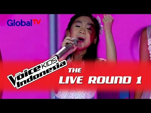 "Jane ""Secret Admirer""  I The Live Rounds I The Voice Kids Indonesia GlobalTV 2016"