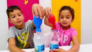 Çocuklar, bugün çok eğlenceli oyunlarımız var! Balonları şişirip patlatacağız! Komik videomuzda kimya deney oyunumuzu izleyelim! Bakın! Aaa! Sirkeli balon Eren'in yüzüne patladı! Videomuza tıklayın balonlara ne koyduk öğrenin! #bibabuoyundiyarı Oyun Diyarı TV eğitici ve öğretici yeni çizgi filmlere ve çocuk videolara kolaylıkla ulaşabilirsiniz. Eğlenerek  ve öğrenmek için en güzel çizgi filmler ve videolar. Bizim üyemiz olun, yeni çizgi filmleri kaçırmayın.Bizi Facebook'ta takip ediniz:https://www.facebook.com/Oyuncu-TV-511681979002646/https://www.facebook.com/bebeturktv/Vkontakte :https://vk.com/kapukikanukihttps://vk.com/bebeturk