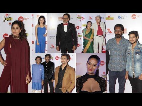 The Red Carpet Of Mirchi Music Marathi Awards
