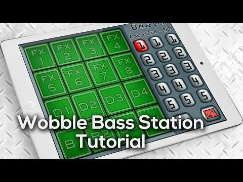 Video of Wobble Bass Station Dubstep